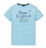PME Legend Short sleeve r-neck play lw tshirt sky ptss194532 blauw