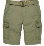PME Legend Engine short fast forward twill dusty psh194651 groen