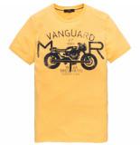 Vanguard Vtss194696 1142 r-neck single jersey yellow geel