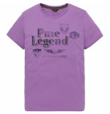PME Legend Ptss194532 4325 short sleeve r-neck play lw tshirt lavender crystal rood