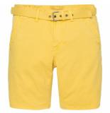 PME Legend Psh194652 1057 propeller short comfort twill mimosa geel