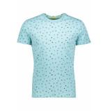 New in Town Serafino t shirt 8923063 416 blauw