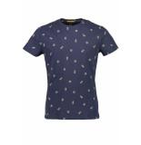 New in Town T shirt serafino 8923048 483 blauw