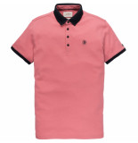 Cast Iron Cpss194550 3163 short sleeve polo mercerized dusty rose rood