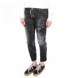 Dsquared2 2 5 pocket jeans zwart