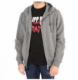 Philipp Plein Dollar hoodie sweatshirt grijs