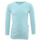 Reinders Twin set sweater lurex blauw