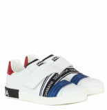 Dolce and Gabbana Kids Kids classic sneaker wit