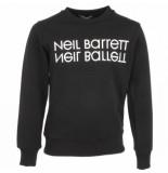 Neil Barrett Eil barrett kids sweat shirt boy zwart