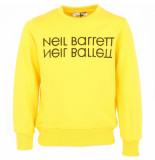 Neil Barrett Eil barrett kids sweat shirt boy geel