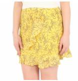 NA-KD A-kd fora print skirt geel
