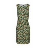 Smashed Lemon Dress aqua-moss groen