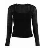 Guess Ines sweater - zwart