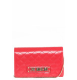 Moschino Love signature bag small - rood