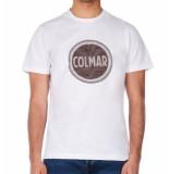 Colmar Mens solid color t-shirt - wit