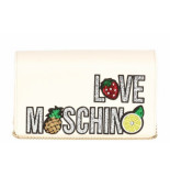 Moschino Love small fruit tas wit