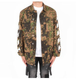 Off White Diag camou field jacket all over wit
