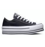 Converse All stars platform layer 5670c zwart
