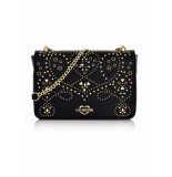 Moschino Love shoulder bag studs zwart/goud