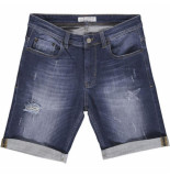 Just Junkies Mike shorts collect blauw denim