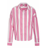 Hilfiger Denim Tjw cropped boxy multi shirt shocking pink/multi roze