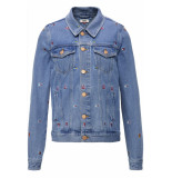 Hilfiger Denim Regular trucker jacket grtlb gritter light bl rig
