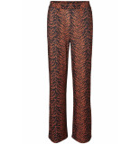 Noisy may Nmsally snake nw loose pant x4 27008005 black/auburn/black oranje