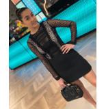 Byblos Short enverse dress - zwart