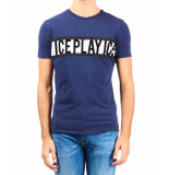 Ice Play T-shirt donkerblauw