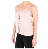 NA-KD A-kd lace front singlet roze