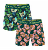 Muchachomalo Boys 2-pack shorts digital nature