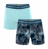 Muchachomalo Boys 2-pack shorts printed coral