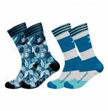 Muchachomalo Men 2-pack socks extinct plants
