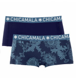 Muchachomalo Girls 2-pack boxershort print