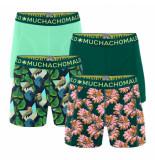 Muchachomalo Men 4-pack shorts digital nature