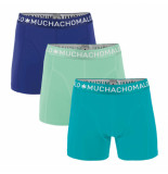 Muchachomalo Men 3-pack short solid/solid/solid groen