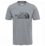 The North Face New peak tee ss grijs
