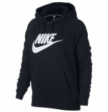 Nike Rally hoodie zwart