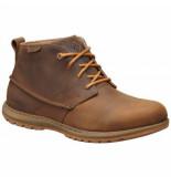Columbia Wandelschoen davenport chukka waterproof leather men's elk bright copper bruin