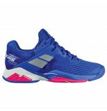 Babolat Tennisschoen propulse fury all court women princess blue fandango pk blauw