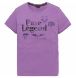 PME Legend Short sleeve r-neck play lw tshirt lavender crysta paars