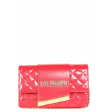 Moschino Love cross center clutch - rood