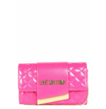 Moschino Love cross center clutch - roze