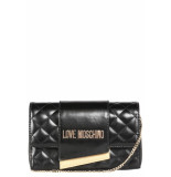 Moschino Love cross center clutch - zwart