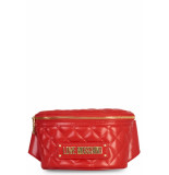 Moschino Love quilted hip bag - rood