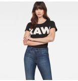 G-Star T-shirts tops 127600 zwart