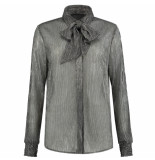 Nikkie Blouse reaghan zilver