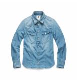 G-Star tacoma shirt blauw