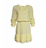 Sparkz Geel-wit gestreepte jurk sparkz