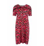 Juffrouw Jansen Boxy dress panter melon rood